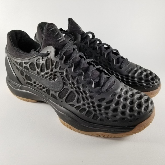 Nike Air Zoom Cage 3 Hard Court Premium Shoes 10